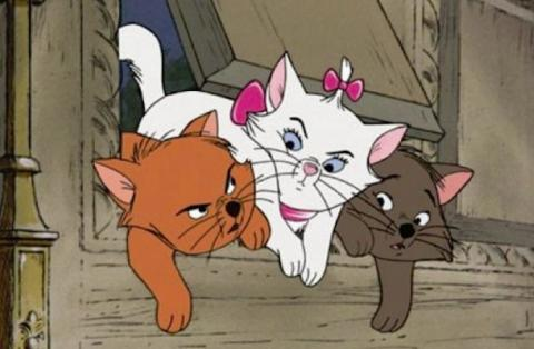 فيلم قطط ذوات مترجم ومدبلج The AristoCats كامل 1970 HD